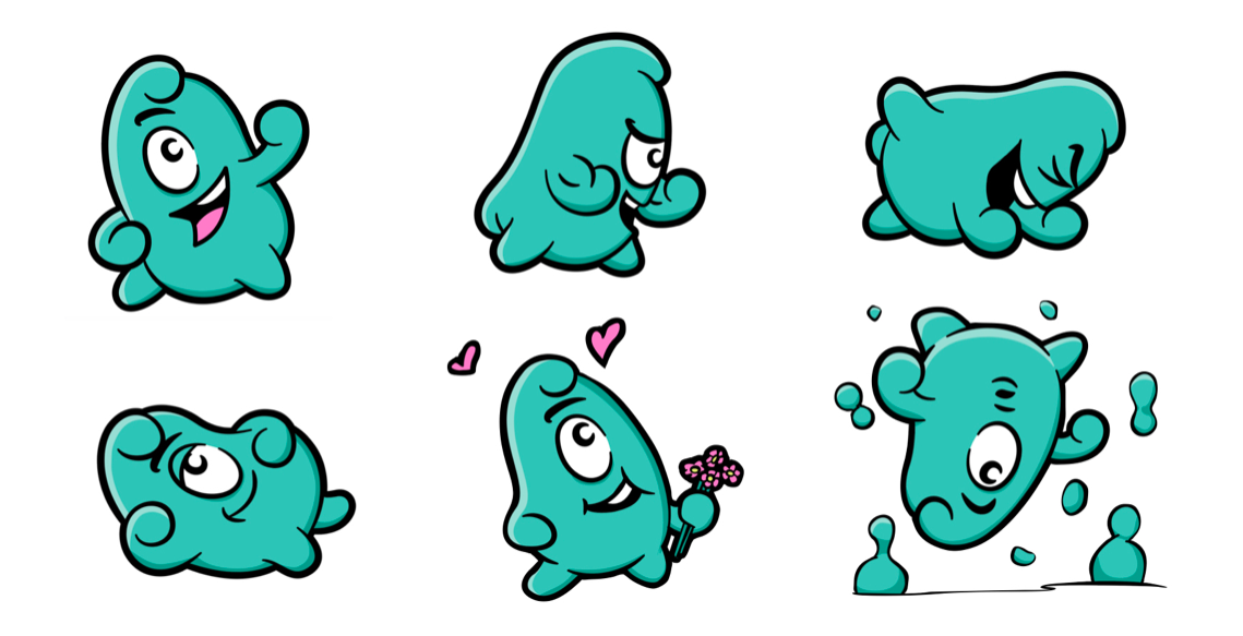 Brand mascot creation design